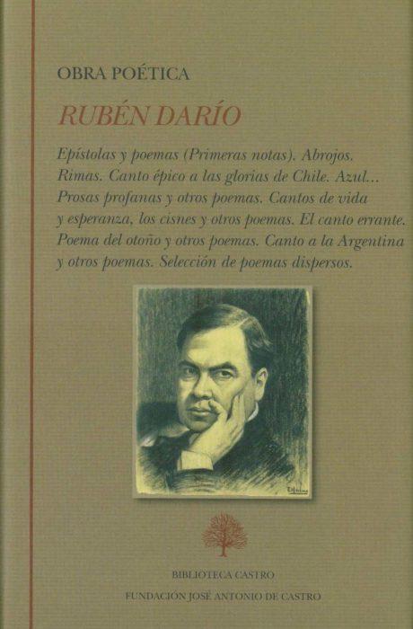 Portada escaneada Rubén Darío