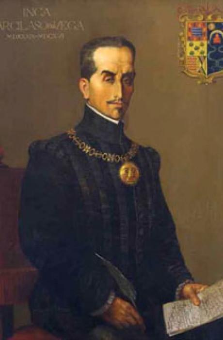 REtrato Inca Garcilaso de la Vega
