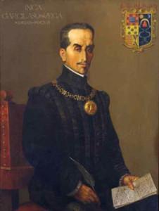 Retrato Inca Garcilaso