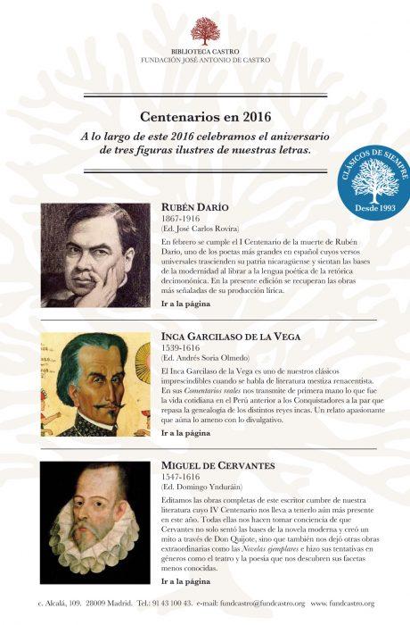 Centenarios 2016