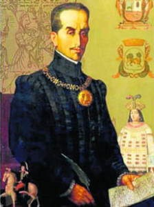 otro retrato del Inca