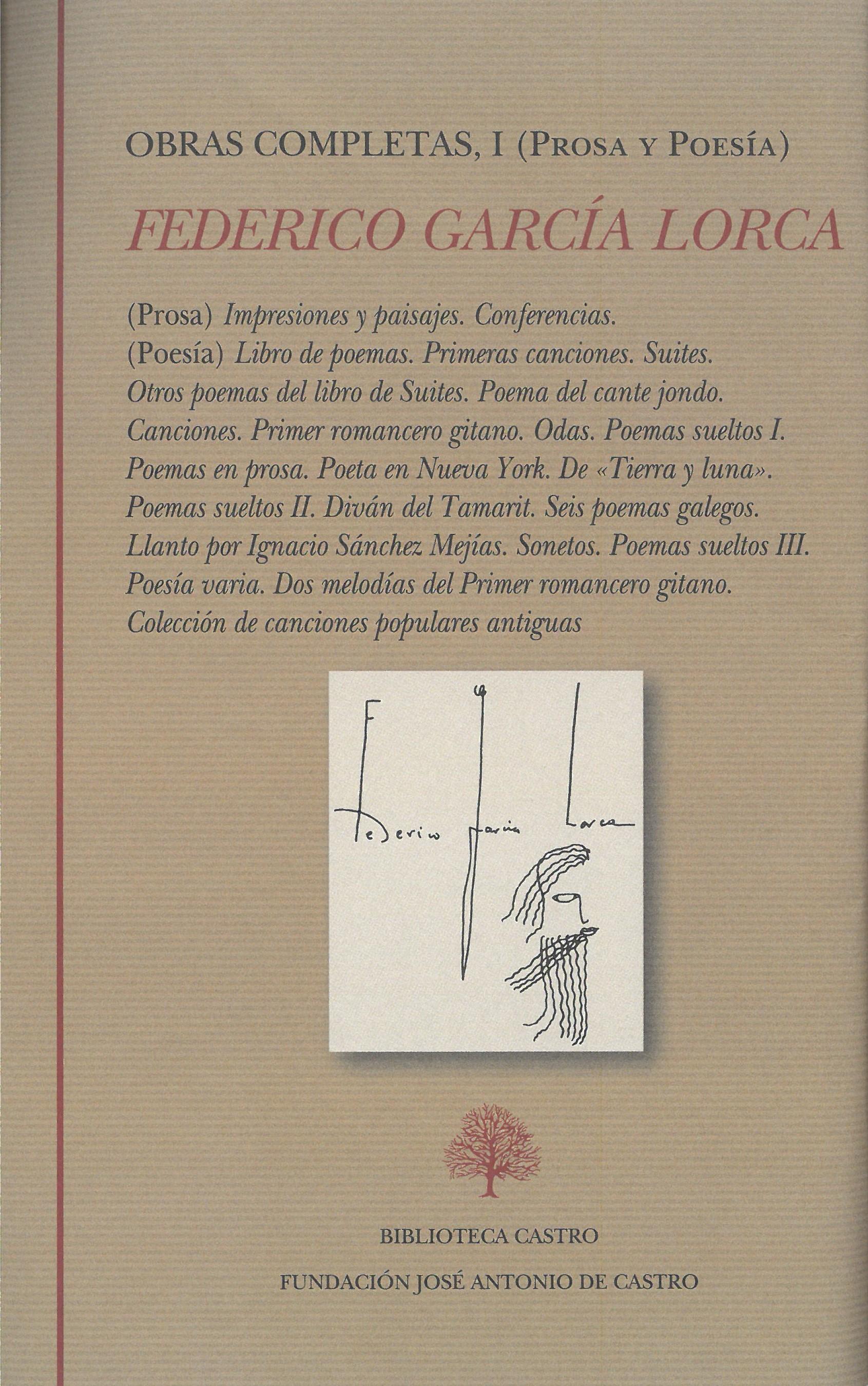 García Lorca Federico 1898 1936 Prosa Y Poesía Completa